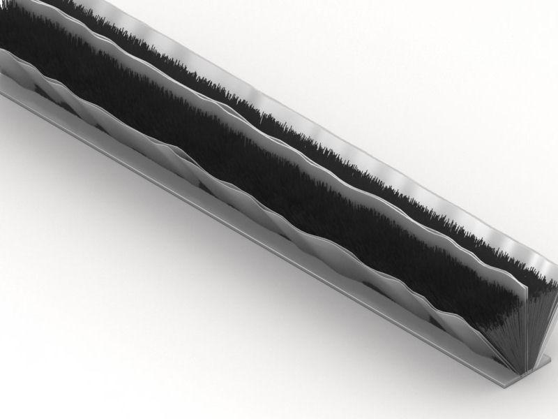 Joint brosse thermique et isophonique r f v1402440g - Joint balai porte coulissante ...