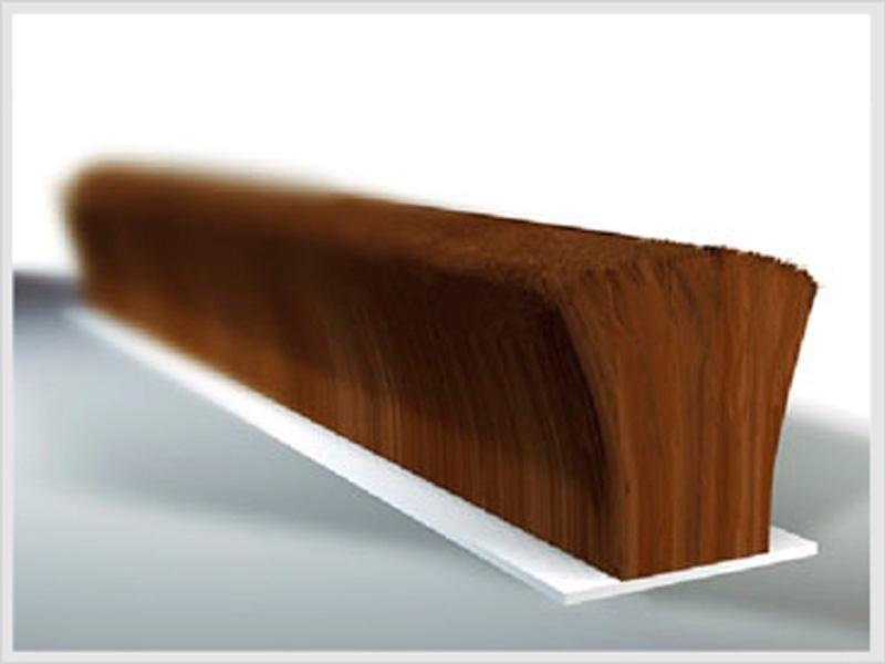 joint brosse velour alu pile r f 16742000g. Black Bedroom Furniture Sets. Home Design Ideas